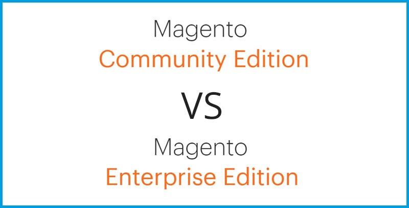 Magento Community o Magento Enterprise: ¿cuál es la mejor edición para mi tienda? - Blog Alfa9