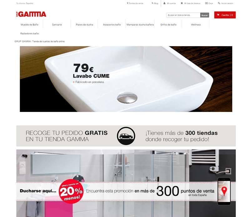Gamma desarrollo Magento eCommerce