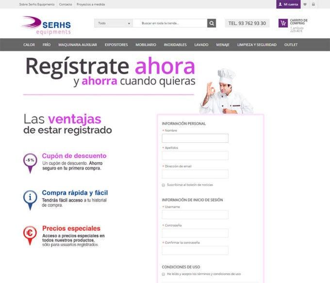 Serhs integración ERP con eCommerce